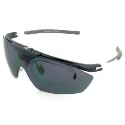 Evolution Hawk Sports Sunglasses x4 Lense Set with Prescription insert