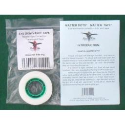 Master DotMaster Tape - eye dominance correction tape
