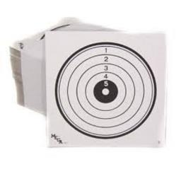Red Kite Professional Targets 14 x 14 Tri-Colour and Black and White (25 pack)