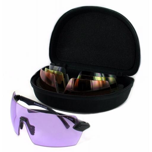 Evolution Matrix Sports Sunglasses x4 Lense Set