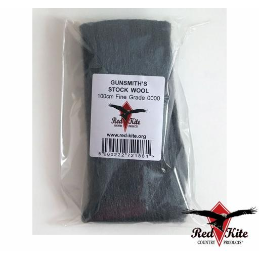 RKC01 - Red Kite Gunsmith's Gun Stock Wool - 0000 Extra Fine Wire Wool